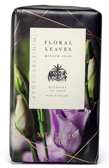 Floral Leaves Soap Bar