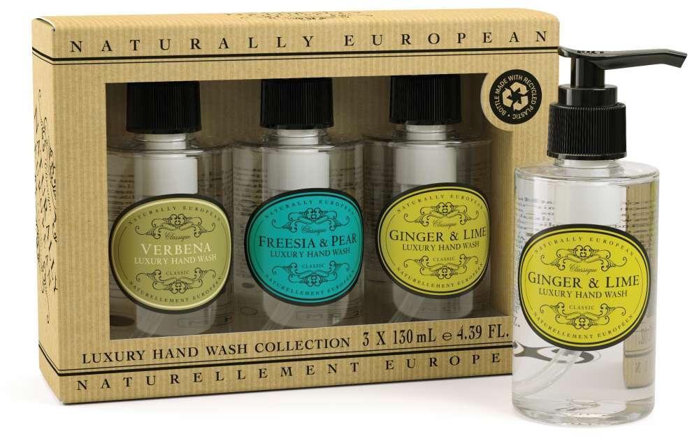Naturally European Mini Hand Wash Collection