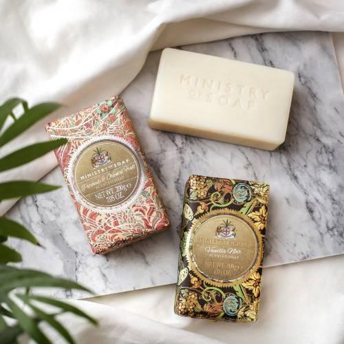 Golden Bead range of soaps
