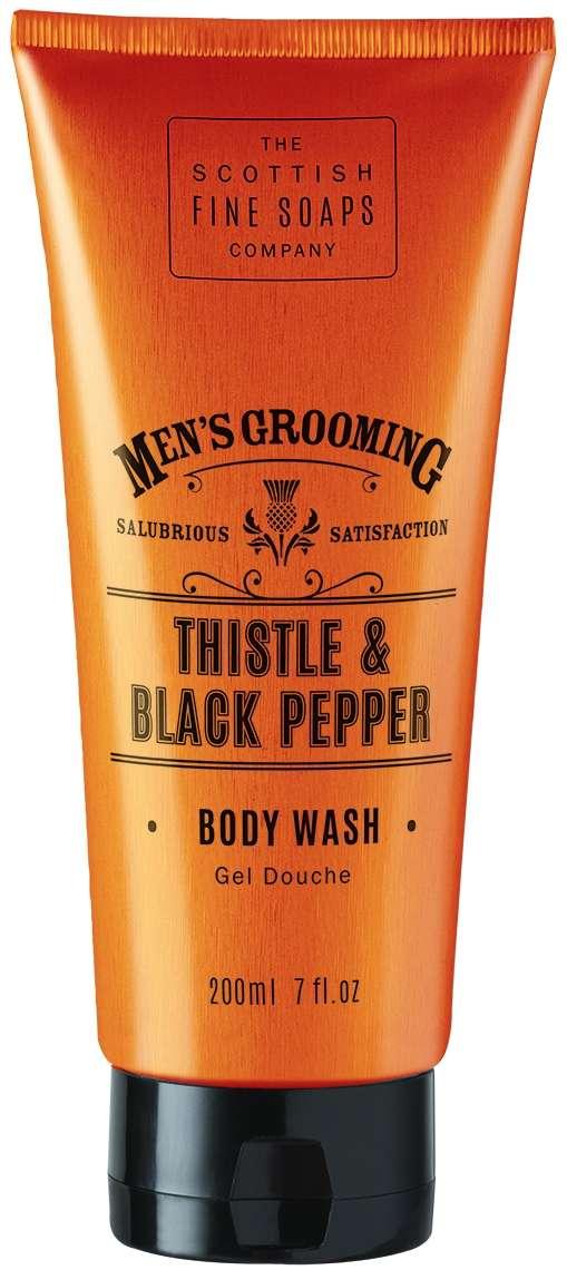 Scottish Fine Soaps Thistle and Black Pepper Men's Shower Gel