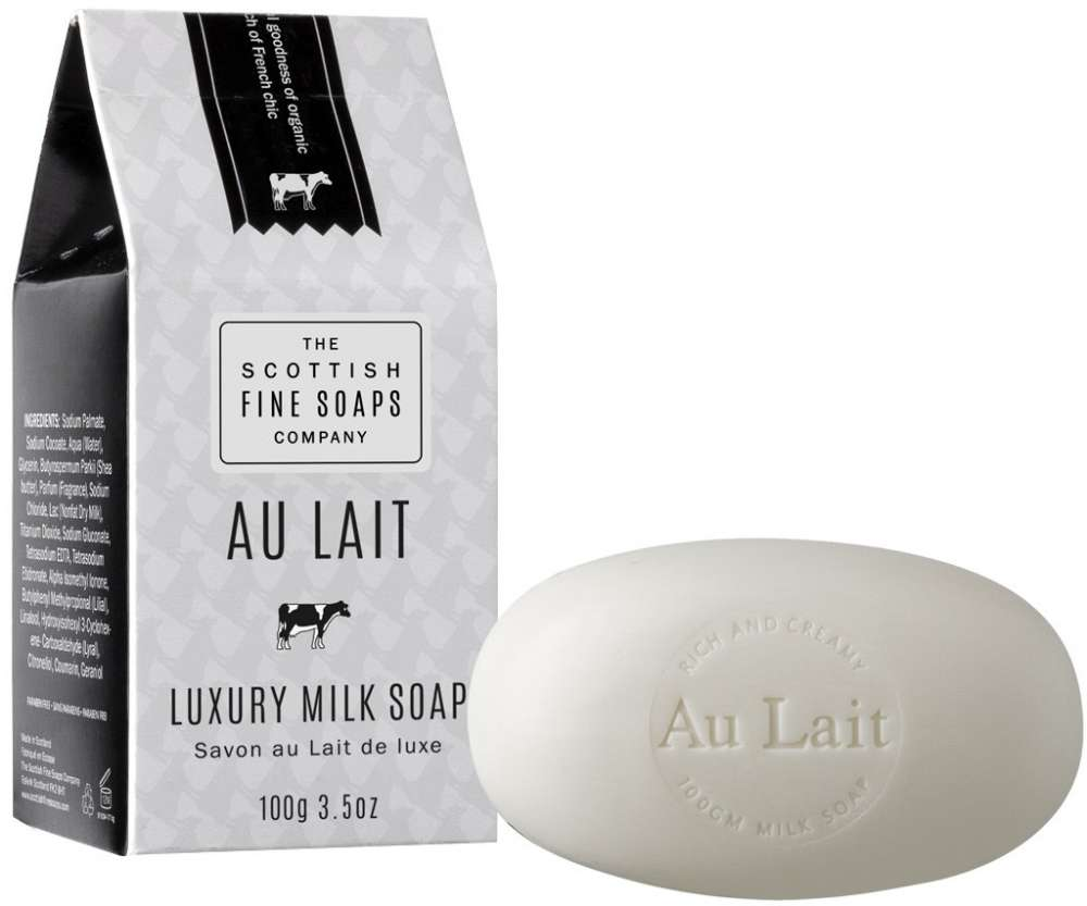 Scottish Fine Soaps Au Lait Soap Milk Carton