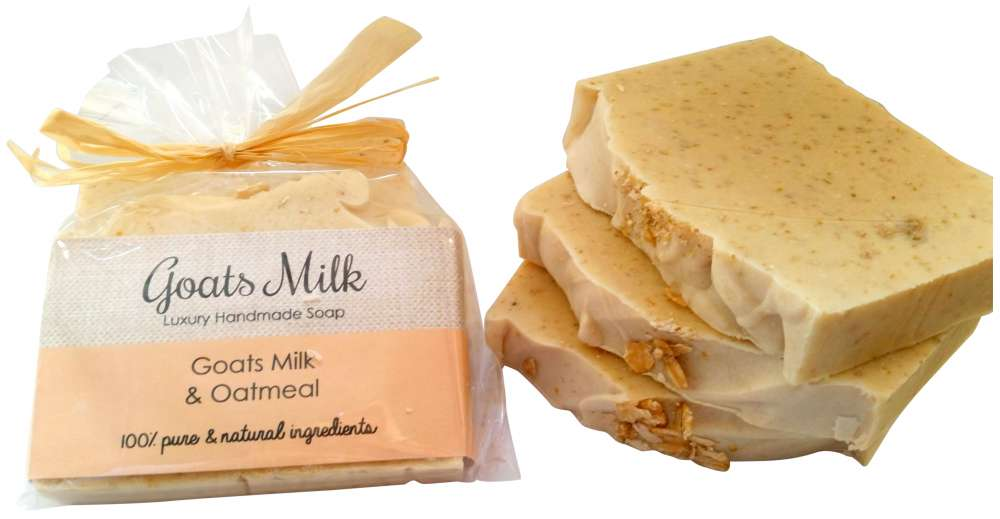 Goats Milk and Oatmeal Natural Soap