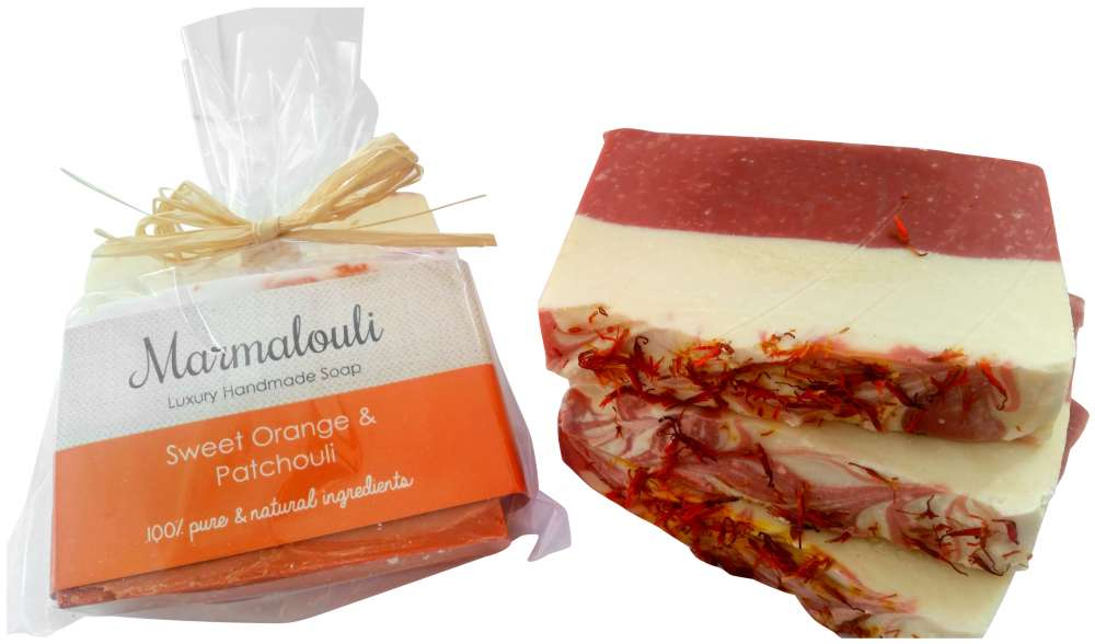 Marmalouli Sweet Orange and Patchouli Natural Soap