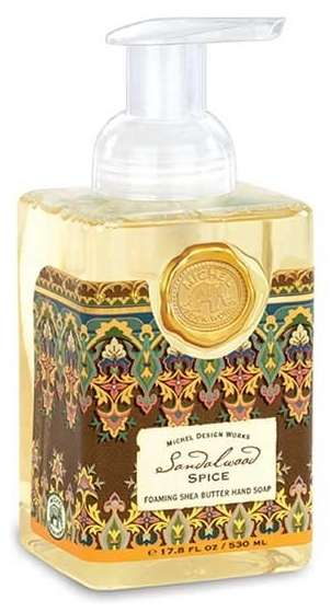 Sandalwood Spice Foaming Hand Soap By Michel Design Works