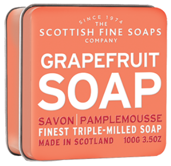 Grapefruit Soap In A Tin