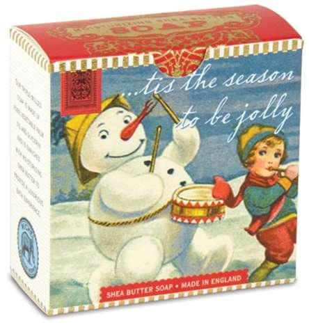 Michel Design Works - Snowman Little Soap