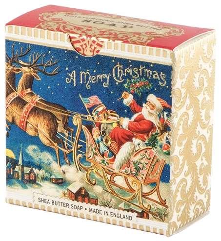 Michel Design Works - Santa's Sleigh Little Soap