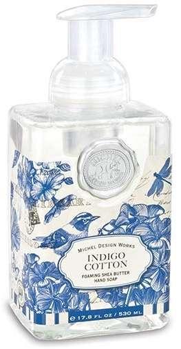 Indigo Cotton Foaming Soap