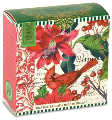 Michel Design Works - Christmas Blooms Little Soap