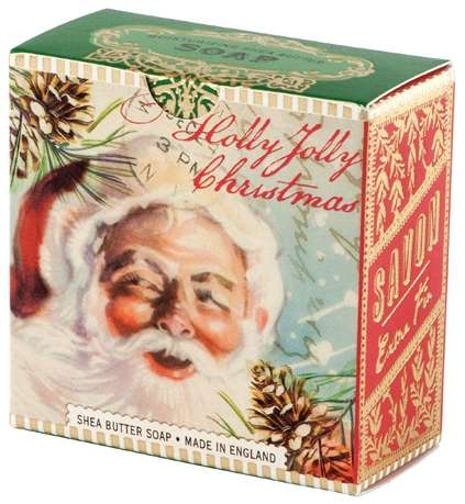Michel Design Works - Holly Jolly Christmas Little Soap