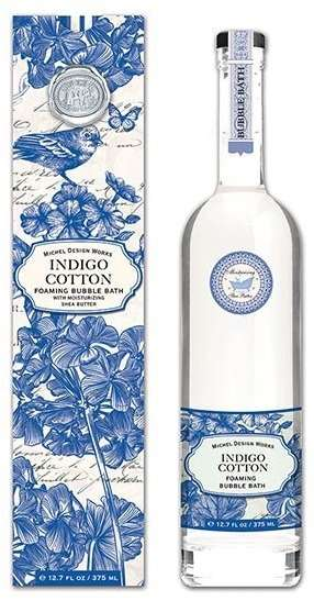Michel Design Works Indigo Cotton Bubble Bath