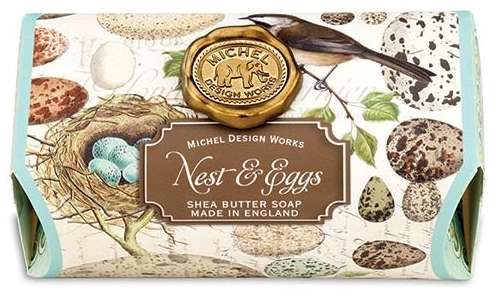 Nest and Eggs Large Soap Bar