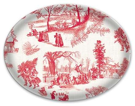 Christmas Wonderland Glass Soap Dish By Michel Design Works From Posh Soaps