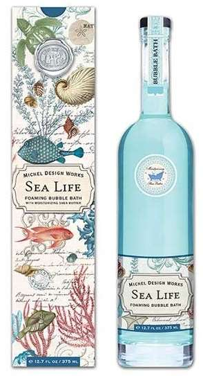 Sea Life Bubble Bath By Michel Design Works