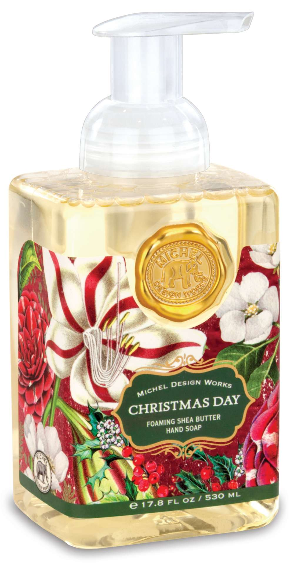 Christmas Day Foaming Soap New By Michel Design Works